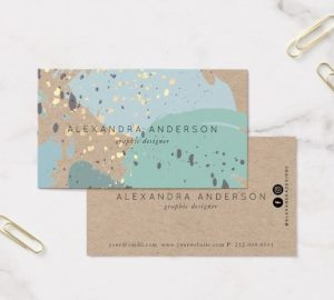 Because Illustrator is great for printing graphics, creating your very own business card is a breeze